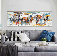 Modern wall art Abstract paintings on canvas Original art Palette Knife Extra large Wall Art wall Pictures cuadros abstractos hand painted $411.25