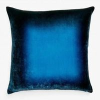 Midnight Ombre Velvet Pillow by Kevin O'Brien Studio $310.00