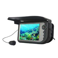 "5"" Color Monitor Fish Finder Dual Infrared Light CCD Camera Visible Video System Fish Detector Professional Fishing Equipment $292.44"