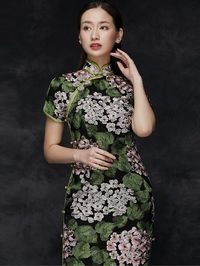Midsummer Dream Embroidered Qipao / Cheongsam Party Dress