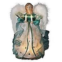 Lighted Christmas Angel Tree Toppers Ideas