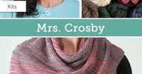 Make something magical with Mrs. Crosby yarns! Find kits and supplies from everyone's favorite fiber aficionado at fabulous prices, and enjoy a fun, fuss-free experience.