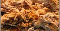 A great #low carb option for dinner! #Pork Tenderloin Carnitas in the crock pot! Great for use in tacos, on salads, or alone. Freezes well.