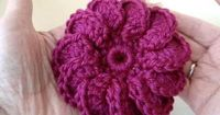 �–� DIY how to crochet 3 crochet flowers - YouTube