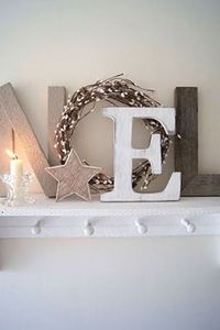 Cute idea...this might look nice over the front door. ~Amy