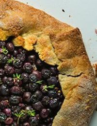 --Blueberry Galette
