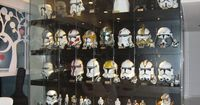 Epic collection! I want a Republic Commando helm so badly...