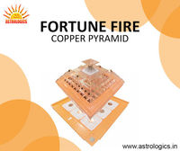 Fortune Fire Copper Pyramid  fortune fire copper pyramids work as wish amplifiers and remove negativity. Used in office Vaastu, home Vastu, or apartment Vastu corrections, Buy Best Quality Pyra Vastu Pyramid Products Online in India at Wholesale Dealer ...