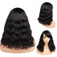 Hair Human Hair Wigs Loose Deep Waev Wigs Middle Part 100% Brazilian Remy Hair Glueless Wig Natural Color