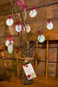 Homemade Jesse Tree with links to resources. The Unlikely Homeschool