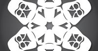 Boba Fett Paso Robles, California-based graphic designer, father, and geek Anthony Herrera has created a new series of DIY paper Star Wars snowflake design