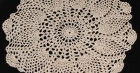 Free Crochet Pineapple Doily Patterns | Free Shaded Colors Pineapple Crochet Doily Pattern