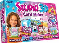 John Adams Studio 3D Cards Maker Amazing 3D greetings cards to personalise and decorate with the Studio 3D Cards Maker, from John Adams. Transform greetings cards into magical 3D animated pieces of art. Choose a lenticular design to http://www.comparestor...