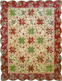 christmas patterns, quilt patterns and peppermint.