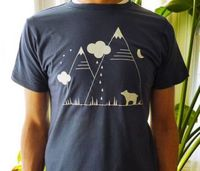 Bear & Mountains Tee