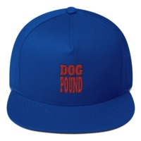 Flat Bill Cap DOG POUND $25.00