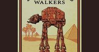 I have to hand it to RedBubble designer helljester, merging the classic Star Wars Imperial Walker with the vintage Camel cigarette design is just perfect. The S