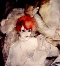 Jeanne Mammen (1890-1976) The Redhead