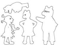 Shadow puppetry How to do your own shadow puppetry show More shadow puppetry cutouts Download (PDF) Wolf and Wolf disguises Wolf Wolf's disguises Little red Rid