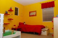 """lego themed bedroom 