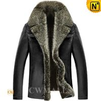 Patented Men Shearling Leather Jackets CW890106 | CWMALLS.COM
