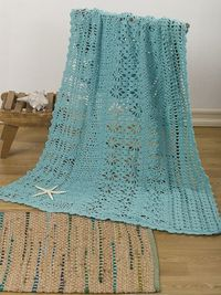 Ravelry: Lacy Lengths Throw pattern by Lisa Gentry