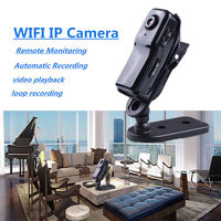 Mini 720P WiFi IP Camera Motion Detect P2P Security CCTV Home Network Video Playback Remote Monitor