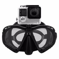 Professional Underwater Diving Mask Scuba Snorkel Swimming Goggles Scuba Diving Equipement Suitable For Most Sport Camera $18.99