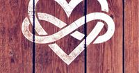 infinity and heart
