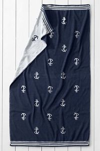 I love this adorable, reversible Lands' End beach towel.