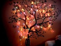 Tired of boring dorm room walls? Light them up with something awesome like this!
