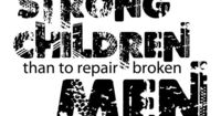 My endless <3 for children...this is true working and studying the counseling field. There are many broken men and women who are products of what has happened to them in their childhood. If we can help these children with their struggles and challenges...