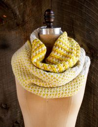 Stitch Block Cowl | The Purl Bee