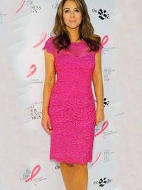 Women's Solid Color Slim Lace Dress