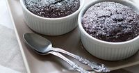 Guilt-Free Molten Chocolate Pudding Cakes