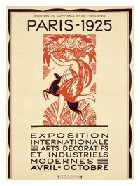 Paris Art Exposition, c.1925 Giclee Print