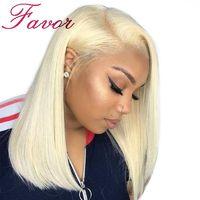Favor Hair 613 Blonde Bob Full Lace Wig $196.22