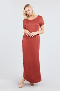 Short Dolman Sleeve Maxi Dress $21.51