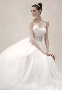 First dress that has REALLY caught my eye. But I don't know if I want to rock a completely strapless gown...