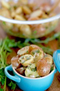 French-Style Potato Salad recipe from The Country Cook