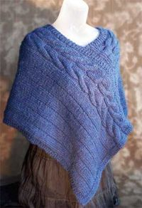 Arrowhead Poncho by Pat Walker | Free Knitting Patterns