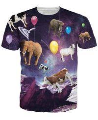 ROTS Galaxy Space Animals T-Shirt $25.00