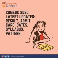 We want to make your Exam ready and therefore we are back with everything you should know about COMEDK which you should not miss.