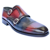 Johny Weber Handmade Multiple Shade Monk Strap