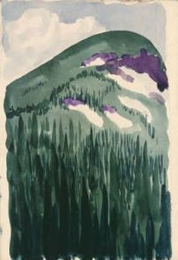 Georgia O'Keeffe, Long Lake, Colorado, 1917