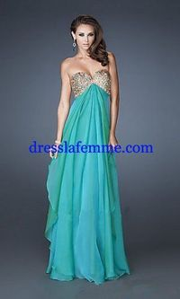 Long Jungle Green Gold Sequins Layered Prom Dresses 2013