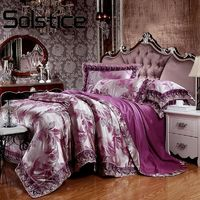 Solstice Home Textile 2018 Elegant Four Piece Jacquard Tencel Modal Of Six Sets $144.00