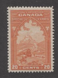 A Beautful Pristine Mint Special Delivery Stamp of Canada From 1927