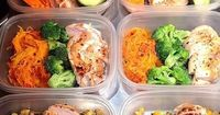 No slacking when it comes to eating on the go. Prepare your delicious healthy meals for the week and freeze them until the nbight before. Thaw them out in the frig the night before you are ready to take them with you. Easy MealPrep for the week that can b...