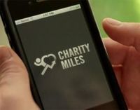 Charity Miles, they donate to a charity of your choice for every mile you walk, bike or run! talk about motivation :)